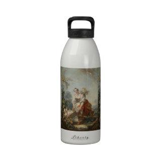 As alegrias da maternidade por Fragonard Garrafinha De Água