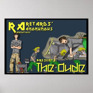 As animações do RA apresentam o gajo Poster