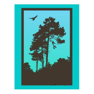 As árvores cartões postais