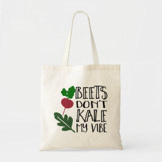 As beterrabas não fazem couve minha impressão bolsa tote