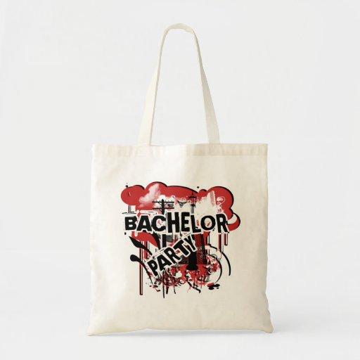 As bolsas do favor de despedida de solteiro