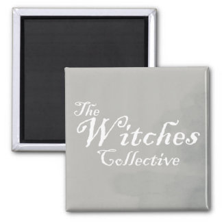 As bruxas coletivas ímã quadrado