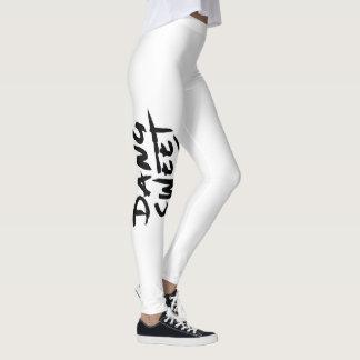 As calças justas das mulheres leggings