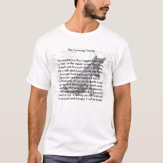 as camisas animais da rima do chacal astuto