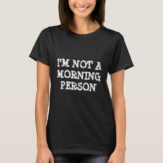 As camisetas engraçadas | eu não sou uma pessoa da