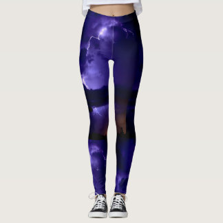 As caneleiras das mulheres leggings