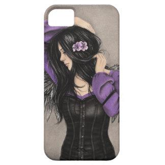 As capas de iphone tristes do anjo do coração capa para iPhone 5