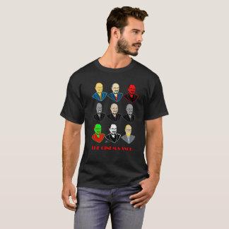 As caras do snobe do cinema - o t-shirt preto dos