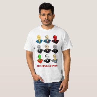 As caras do snobe do cinema - t-shirt