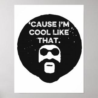 As citações inspiradas os anos 70 engraçados posters