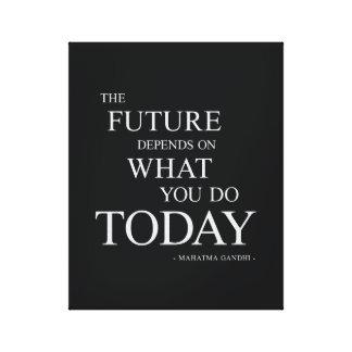 As citações inspiradores inspiradas futuras