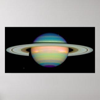 As cores de Saturn Posteres