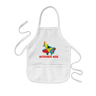 Ás da cozinha avental infantil