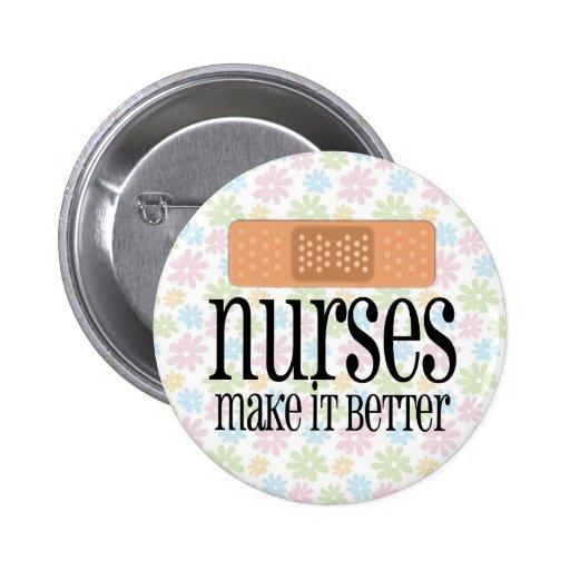 As enfermeiras fazem-no melhor, atadura pins