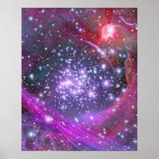 As estrelas as mais pesadas na galáxia, Sagitário Poster