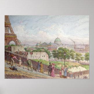 As etapas na rua Alboni, 1897 Poster
