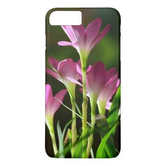 As flores, flores cor-de-rosa, lírio florescem, as capa iPhone 8 plus/7 plus