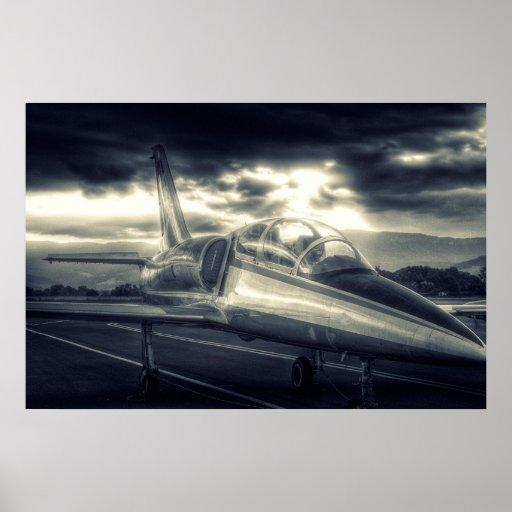As forças armadas do albatroz do poster L39C do av