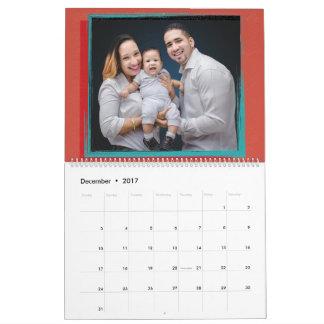 As fotos de família criam seu próprio calendário