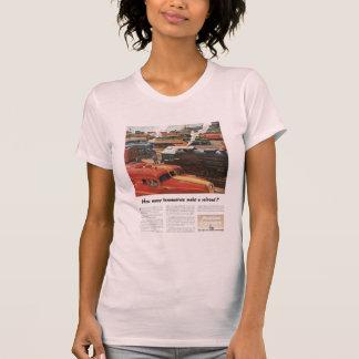 As locomotivas de Alco fazem uma estrada de ferro Camiseta