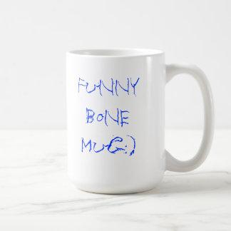As manhãs são engraçadas com osso cubital:) caneca