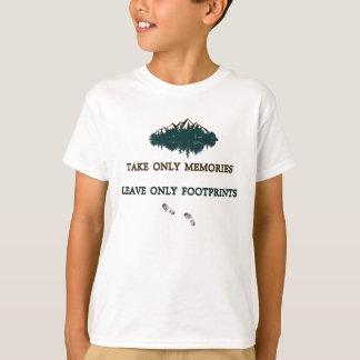 As memórias da tomada somente, deixam somente camiseta