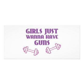 As meninas apenas querem ter armas panfleto