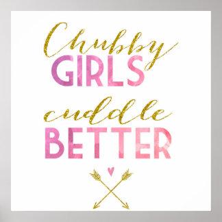 As meninas carnudos afagam melhor pôster