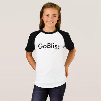 As meninas Short o t-shirt de GoBliss da luva