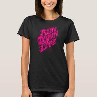 As meninas vivas da degradação tshirt