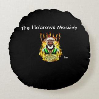 As messias reais dos hebraicos - travesseiro almofada redonda