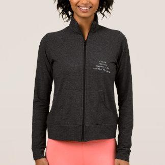 As mulheres feitas sob encomenda aquecem a jaqueta