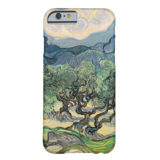 As oliveiras, 1889, por Vincent van Gogh Capa Barely There Para iPhone 6