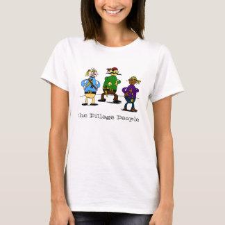 As pessoas da pilhagem camiseta