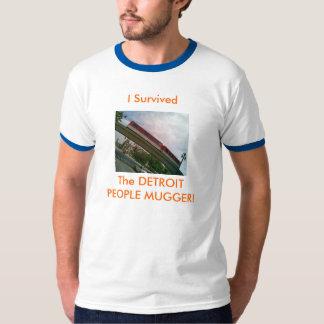 As pessoas do ladrão de Detroit! Camiseta