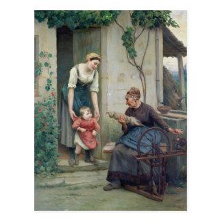 As três idades cartão postal
