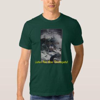 """As trombetas t-shirt de Tagan"""