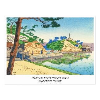 Asano Takeji, ideias da arte de Wakayama Wakanoura Cartão Postal