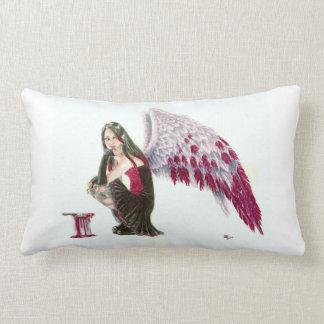 Asas carmesins - travesseiro decorativo