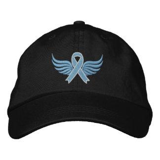 Asas da fita do cancro da próstata boné bordado