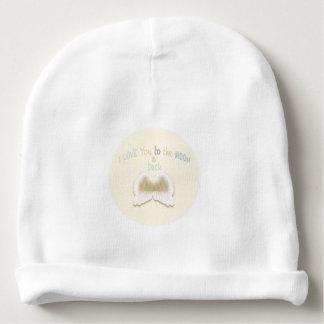Asas do anjo, Beanie do algodão do bebê Gorro Para Bebê