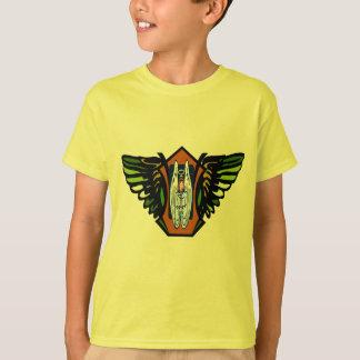Asas do anjo camiseta