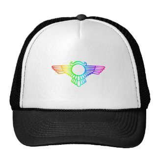 Asas do arco-íris boné