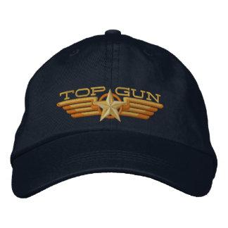 Asas do piloto do crachá de Top Gun Boné Bordado