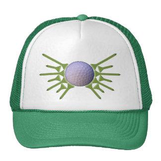Asas do T da bola de golfe Boné