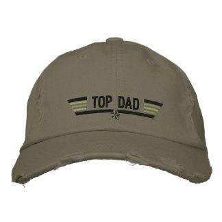 Asas personalizadas clássico do pai de Top Gun ou Boné Bordado