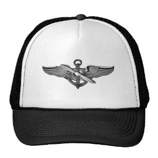 asas piloto marinhas boné