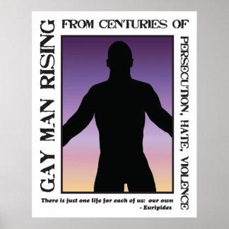 Ascensão do homem gay poster