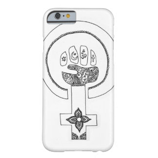 Ase feminista do iPhone Capa Barely There Para iPhone 6