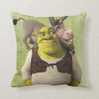 Asno e Shrek Almofada